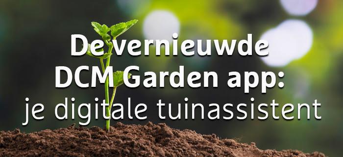 DCM Garden app