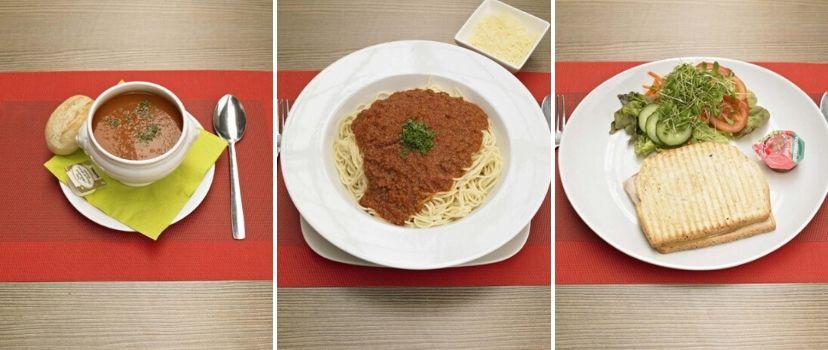Menu restaurant cafetaria - Interflower